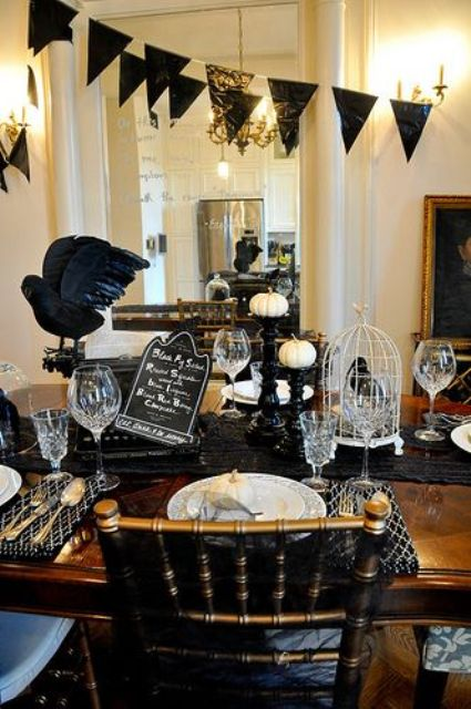 5 halloween themes and decor ideas conference taranaki - Decoration de table halloween ...